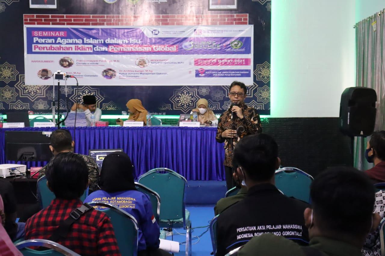 Seminar Nasional Manajemen Dakwah Bekerjasama dengan Climate Institute